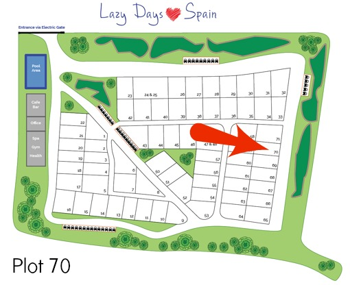 Lazy Days in Spain Plot 70