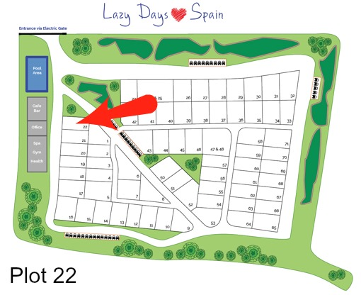 Lazy Days in Spain Plot 22